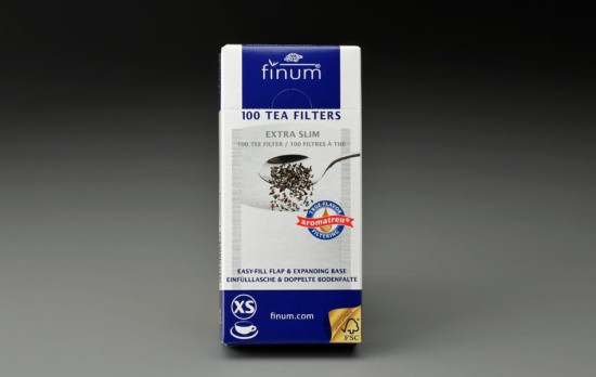 100 ct. Finum Small Paper Filters