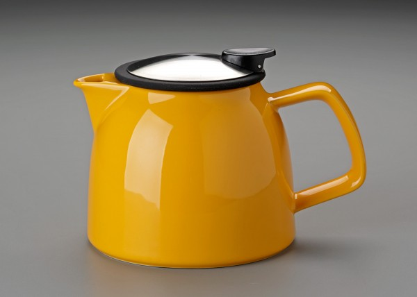 26 oz. For Life Bell Teapot (Yellow)