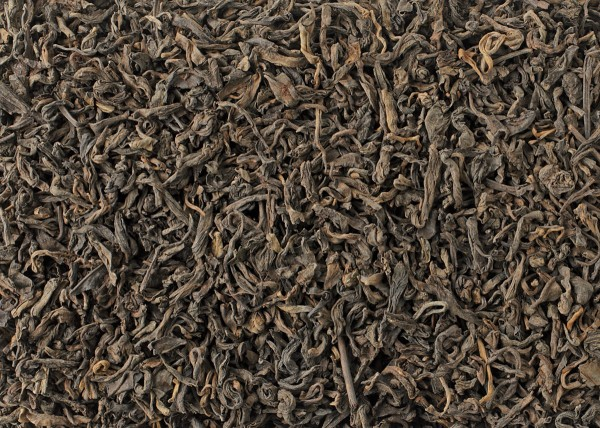 Organic Black Pu-erh, Whole Yunnan Leaf