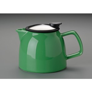 26 oz. For Life Bell Teapot (Leaf Green)