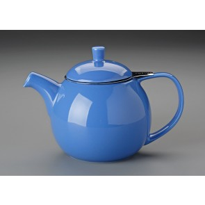24 oz. For Life Curve Teapot (Blue)