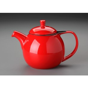 24 oz. For Life Curve Teapot (Red)
