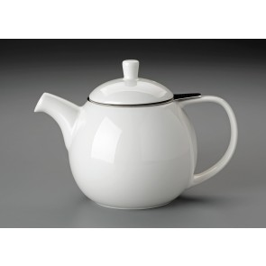 24 oz. For Life Curve Teapot (White)