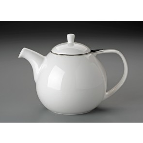 45 oz. For Life Curve Teapot (White)